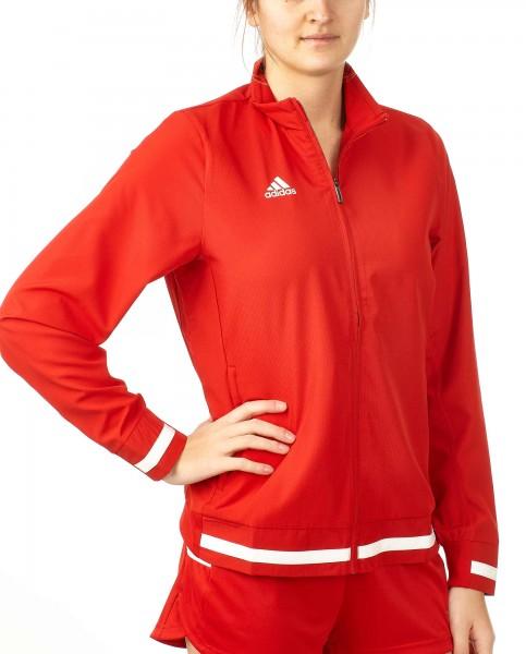 adidas T19 Woven Jacket Damen rot/weiß, DX7347