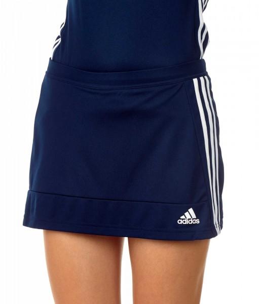 adidas T16 Clima Cool Woven Skort Damen navy blau/weiß AJ5270
