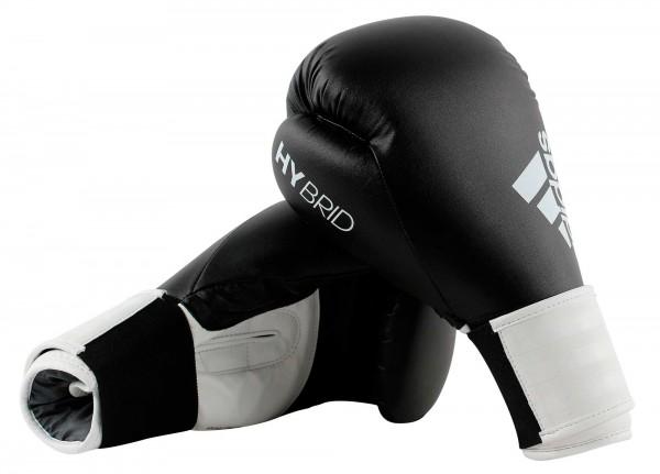 adidas Boxhandschuhe Hybrid 100, schwarz/weiß, ADIH100