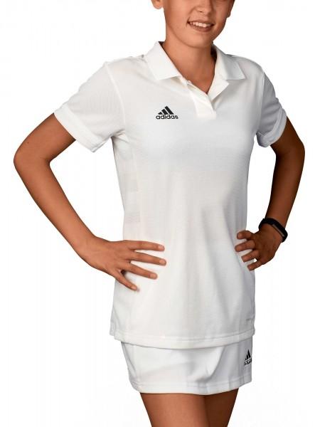 adidas T19 Polo Shirt Girls weiß, DW6873