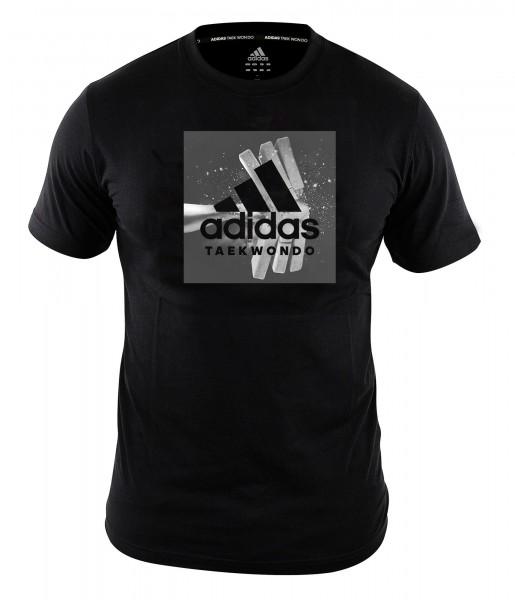 "adidas Community line T-Shirt Taekwondo ""Crash"" black, ADITGT02"