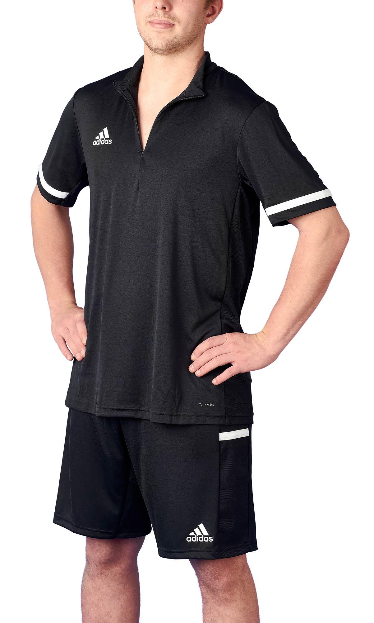 adidas T19 14 Shortsleeve Männer schwarzweiß, DW6850