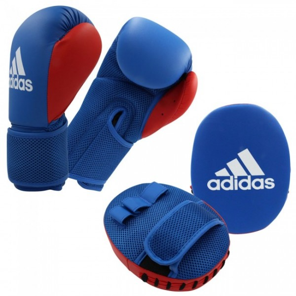 adidas Kids Boxing Kit 2 blue/red, Boxset ADIBTKK02