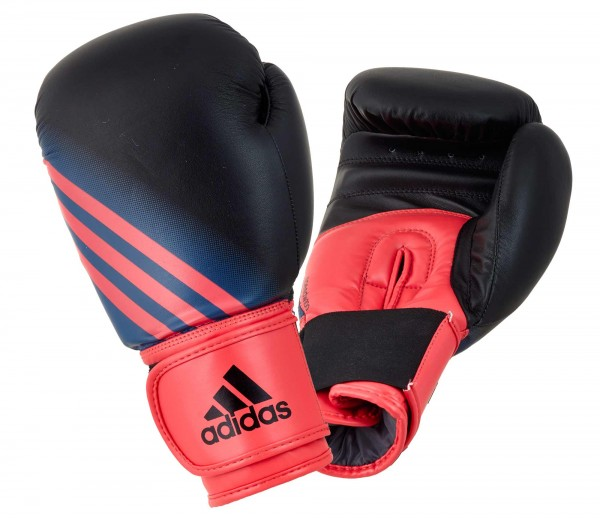 adidas Damen-Boxhandschuhe Speed Women 100, black/shock red, ADISBGW100