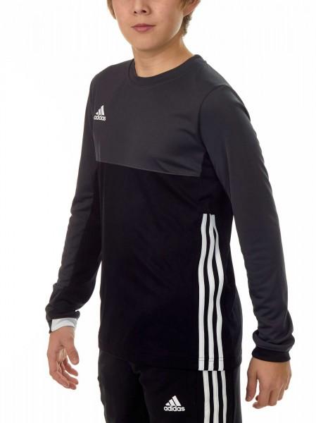 adidas T16 Clima Cool Longsleeve Jungen schwarz/grau AJ5236