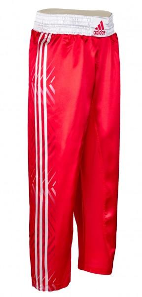 adidas Kickbox-Hose rot/weiß, adiKBUN300T