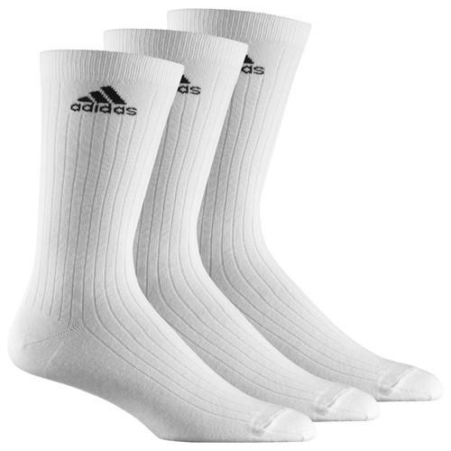 adidas Sportsocken, 3er Pack weiß lang AA2297, 3S PER CR HC