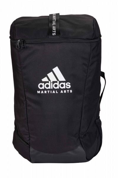 "adidas Sport Rucksack ""Martial Arts"" black/white, adiACC090"