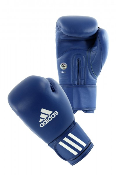 adidas AIBA Boxing Gloves blau, AIBAG1