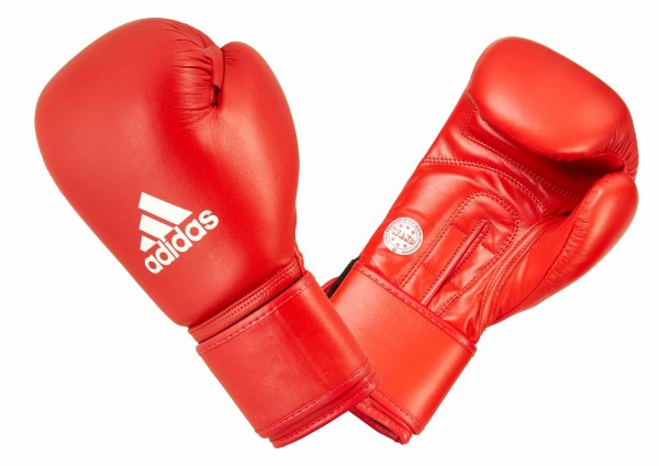 adidas Amateur Boxing Gloves Leather - red, ADIWAKOG1