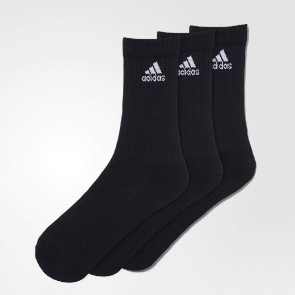 adidas Sportsocken, 3er Pack schwarz lang AA2298, 3S PER CR HC