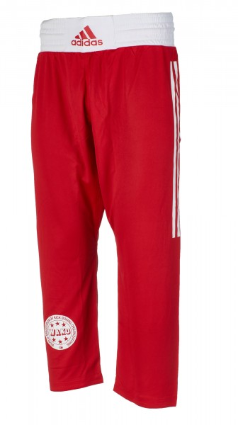 adidas Kickbox-Full Contact Pants rot PE, adiFCP1PE