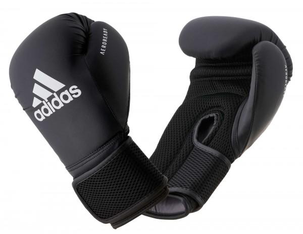 adidas Boxhandschuhe Hybrid 25, schwarz, adiHBG25