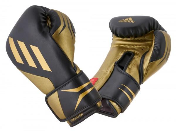 adidas Boxhandschuhe SPEED TILT 350V pro black/gold, SPD350VTG
