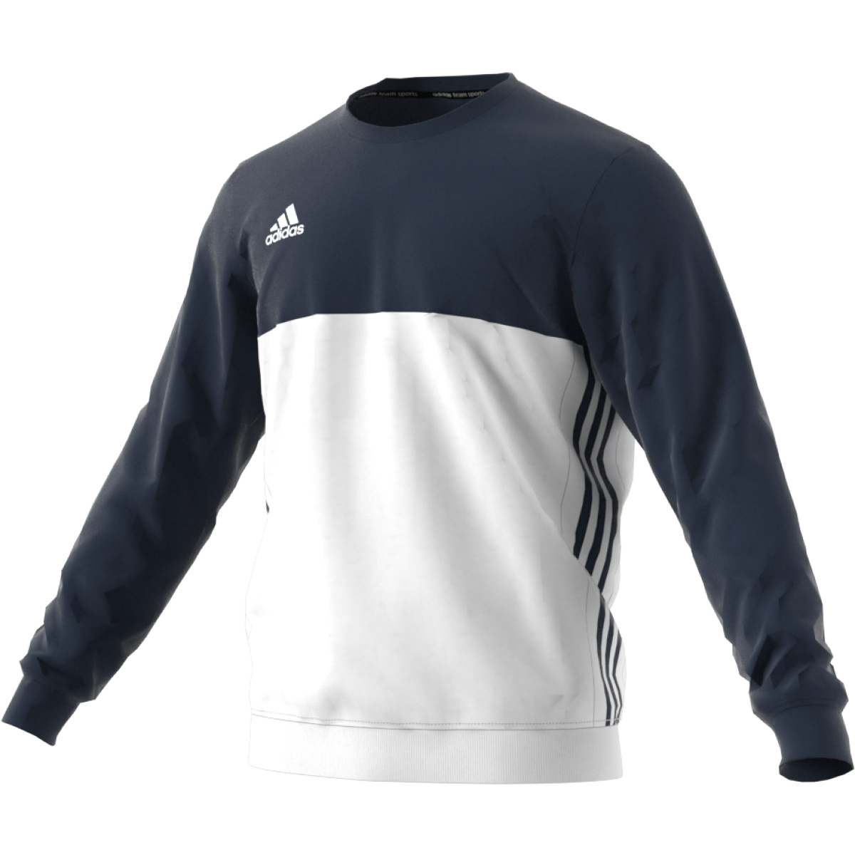 adidas T16 Team Sweater Männer navy blauweiß AJ5419