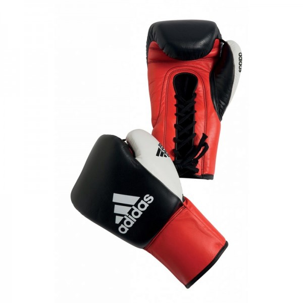 adidas Boxhandschuhe Dynamic Pro black/red/white, adiBC10