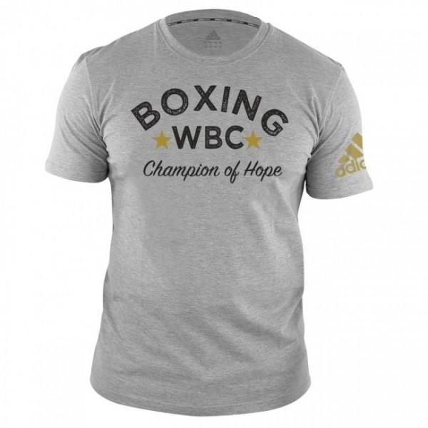 adidas WBC T-Shirt Boxing - grey, adiWBCTB01