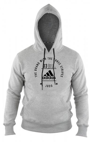 "adidas Community Hoody Judo ""Pro"" grey/black, adiCL02J"