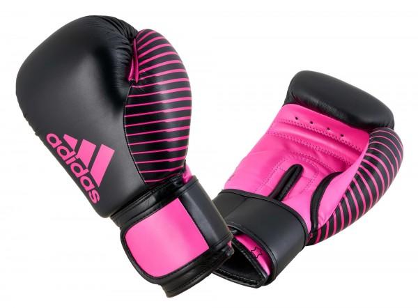 adidas Kickboxing Wettkampfhandschuh black/pink, adiKBWKF200