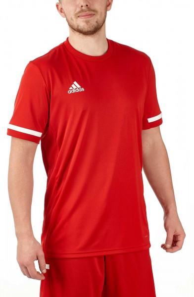 adidas T19 Shortsleeve Jersey Männer rot/weiß, DX7242