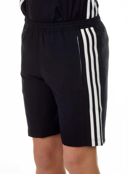 adidas T16 Clima Cool Woven Short Jungen schwarz/weiß AJ5285