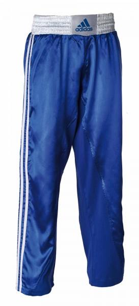 adidas Kickbox-Hose blau/weiß, adiKBUN110T