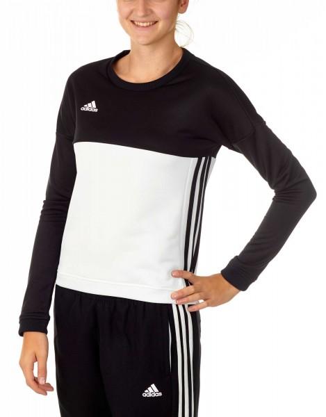adidas T16 Team Sweater Damen schwarz / weiß AJ5414