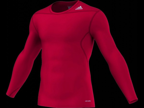 adidas Techfit Base Longsleeve university-red (D82061)