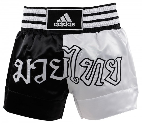 adidas Thai-Boxing Short Black/white, ADISTH03 XXL