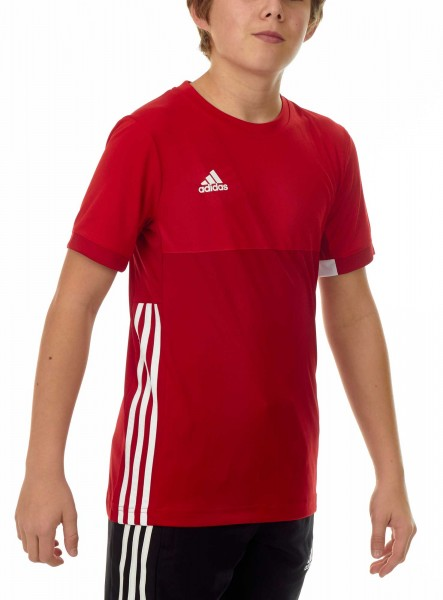 adidas T16 Clima Cool Tee Jungen power rot/scarlet rot AJ5434