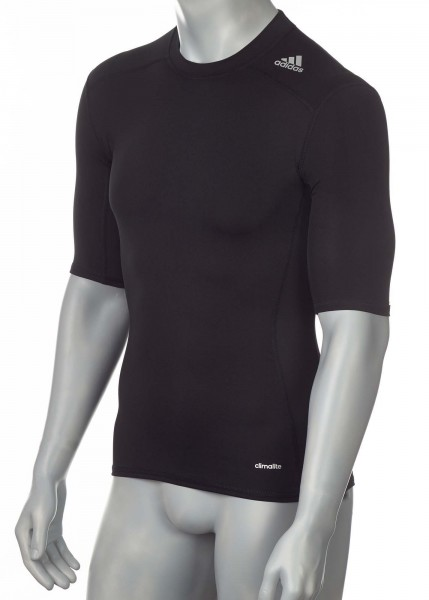 adidas Techfit TF BASE Shortsleeve schwarz, AJ4966