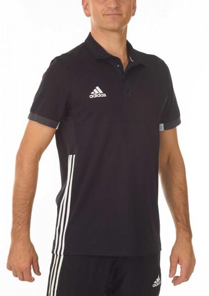 adidas T16 Team Team Polo Männer schwarz /weiß AJ5277
