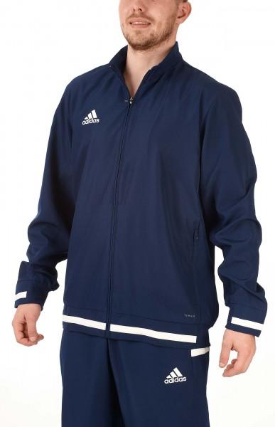 adidas T19 Woven Jacket Männer blau/weiß, DY8801