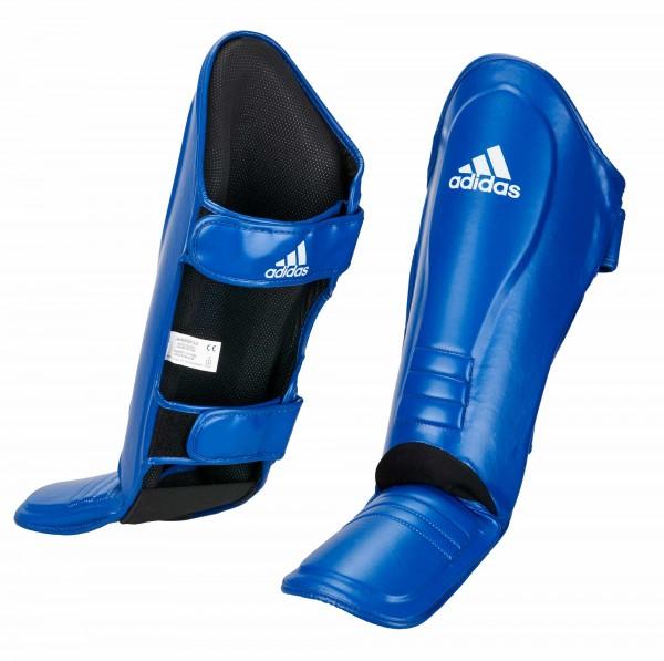 adidas Super-Pro Schienbein-Spannschutz blau, adiSGSS011 2.0