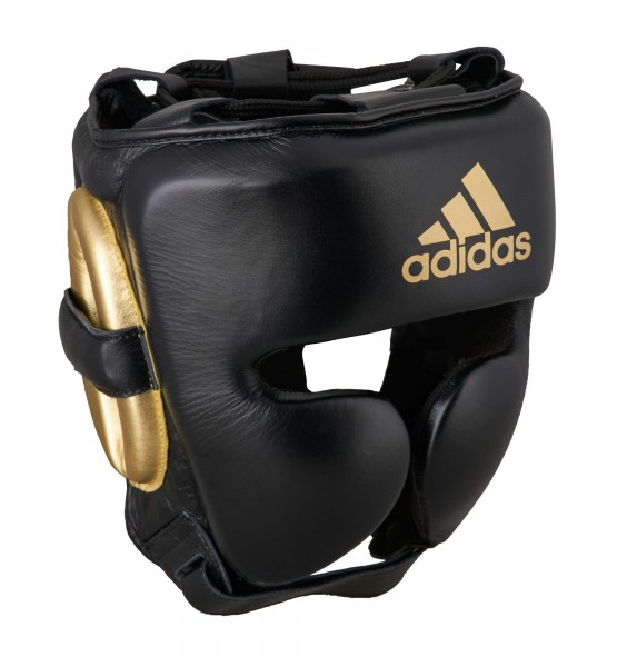 adidas adiStar Pro Kopfschutz black/gold, ADIPHG01PRO